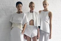 Great White / The freshness of summer white is forever chic!