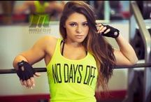Women's Fitness Clothes / Muscle Club Apparel, the hottest name in fitness!