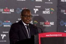 Transnet at The New Age/SABC Business Briefing Session - 13 February 2015 / Transnet partnered with The New Age/ SABC State of the Nation Address Business Briefing session which was hosted by the President of South Africa, Mr Jacob Gedleyihlekisa Zuma. Our Group Chief Executive, Mr Brian Molefe gave a rousing speech at the event, which inspired the audience.