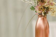 Colour Palette: Copper and Bronze / Inspiration for a copper and bronze wedding