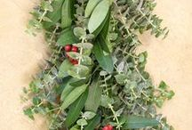 Holiday Garland & Centerpieces