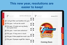 7 Days 7 Resolutions / Great New Year offers from 3rd Jan to 9th Jan 2013. Exclusive offers to help you meet your New Year resolutions.