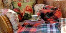 Odpolední čajíčky ... / Pohoda s čajem a knihou.