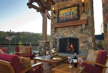 Outdoor Spaces / Great outdoor spaces- patios, pools, kitchens, decks, porches
