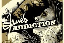 Jane's Addiction / by Pop Star Novelty Russ Crowley IV