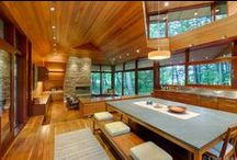 Wood Interiors / These are all wood interior photos by Chibi Moku.  http://www.chibimoku.com
