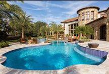 Florida Homes / A collection of Florida homes #floridahomes #ideas
