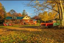 Maine Homes / A collection of Maine homes #mainehomes #ideas