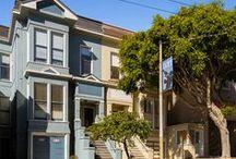 San Francisco Homes / A collection of San Francisco homes #sanfranciscohomes #ideas