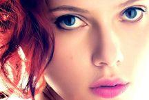 Scarlett Johansson / Actress / by Pop Star Novelty Russ Crowley IV
