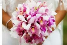 Wedding Bouquets with Orchids / Orchids as wedding bouquets
