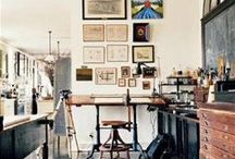 [ studio/work space ] / work places & and studio spaces (。・ω・。)