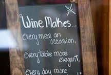 Wine, chocolate, more wine! / See Name! It's pretty self explanatory.
