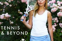 LUXURY TENNIS LIFESTYLE / Yaffa is the ideal luxury activewear brand that is fashionable and sophisticated for the resort and country club. Here's a glimpse in our daily routines.