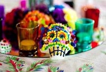 Dia de los Muertos / Artistic, spirited and hauntingly beautiful - Dia de los Muertos is celebrated with remembrance of those who have passed before us. Candle altars, color, flowers and symbolic skulls set the stage for the Day of the Dead.