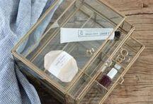 Glasboxen für Schmuck und Schätze / Glasboxen mit Deckel von Madam Stoltz – zum Aufbewahren von Schmuck und kleinen Schätzen.