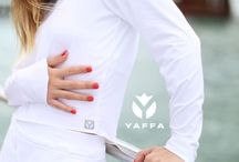 YACHTS in YAFFA / Yaffa will protect your skin out on the water...and Yaffa is even chlorine-resistant!