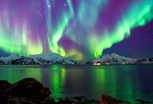 Northern lights / aurora borealis