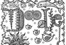Doodling and Zentangle / by Jody Lynn