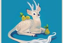 Fantasy Animals / I wish these were real... mostly.