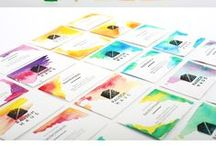 Business Cards / Business cards can be boring, or captivating. I prefer the latter.