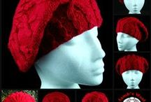 Funky knitted and crocheted hats
