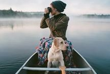 Dogs Outdoors / Being active and exploring the world with your furry friend.
