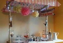 Candy Wagen - Candy Cart / Traumhafte Candywagen für jede Gelegenheit.