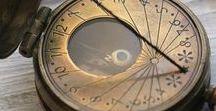 sundials/compass/clocks