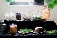 Candybars mal anders / Candybars, Sweettables, Naschtische, die wir ausgerichtet haben und mal etwas andere Farben und Themen als Hochzeit haben.