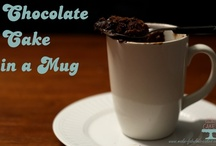 Cake in a mug / by Darlene - Make Fabulous Cakes