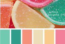 Juegos de Colores / Combinaciones de colores. / by Denia Patricia Quesada V.
