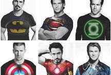 Avengers Assemble / My geeky little secret, I LOVE ironman and all other Marvel heroes. / by Faith Ferguson