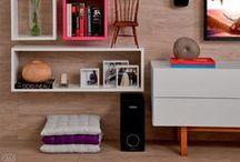 LIVING ROOM - SALA / Inspirações de Sala de estar!