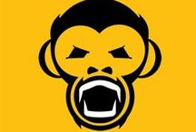 The 3 Monkeys logo / New logo designed to coincide with the completion of 'The 3 Monkeys' music project 'Time' EP.