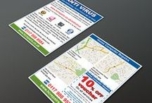 HCR logo and leaflet / Here we were asked to create a new logo for Home Computer Repairs and an additional A5 leaflet to distribute accross the the city of Bristol, UK.