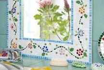 Mosaik - Spiegel