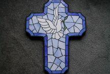 Mosaik - Kreuze