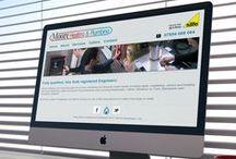 Moore Heating and Plumbing website
