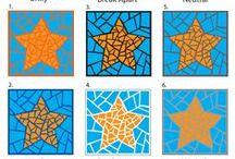 Mosaik - Vorlagen, Muster