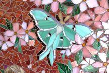 Mosaik - Schmetterlinge