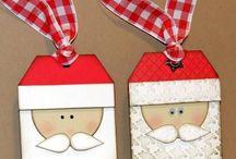 Navidad-Etiquetas-Tags / Las mejores tarjetas (Tags) Navideñas. / by Denia Patricia Quesada V.