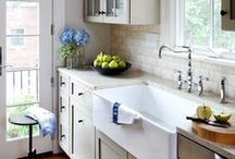 Reader Request - Karen's Kitchen / Ideas for a light and bright 'modern country' kitchen.
