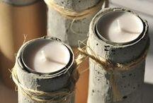 OLDTREE - ciepło świec / Cudownemu blaskowi świeć, stwarzającemu niebywały świat dodajemy nasze świeczniki, które powstają z pięknego, starego drewna...