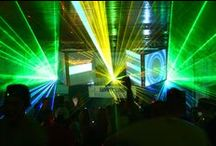 pixelfrog Visual- and Light- performance / Video-Art and Light- performances on various Events and Clubs
