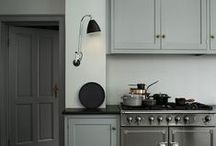 {Grey House Colour Scheme} / For humble abodes with a neutral grey colour scheme.