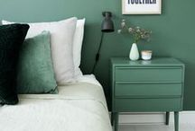 {Green House Colour Scheme}