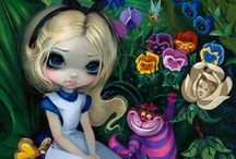 Everything Alice in Wonderland!! / Art, clothing, makeup, creatures, furniture anything alice