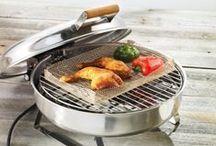 Grillaus & ulkokokkaus – Barbecue & outdoor cooking