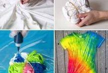 Käsityö: painanta &värjäys / dyeing